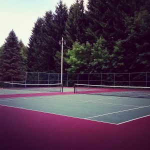 outdoor activities tennis